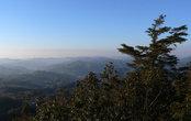 Вид с вершины горы Хаттодзи