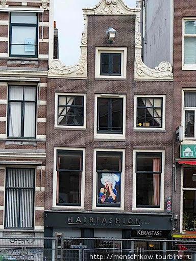 Чудесные кривые домики Амстердама