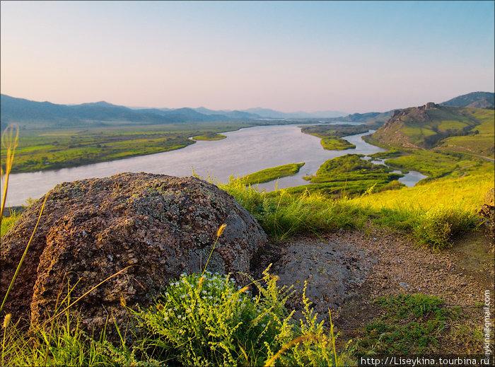 Река Селенга.