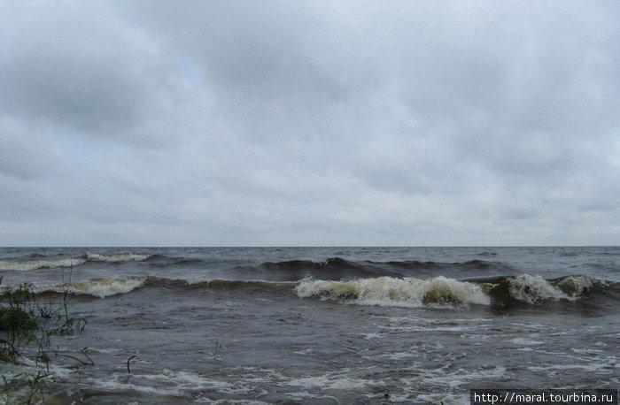 В такую лихую погоду нельзя доверяться волнам