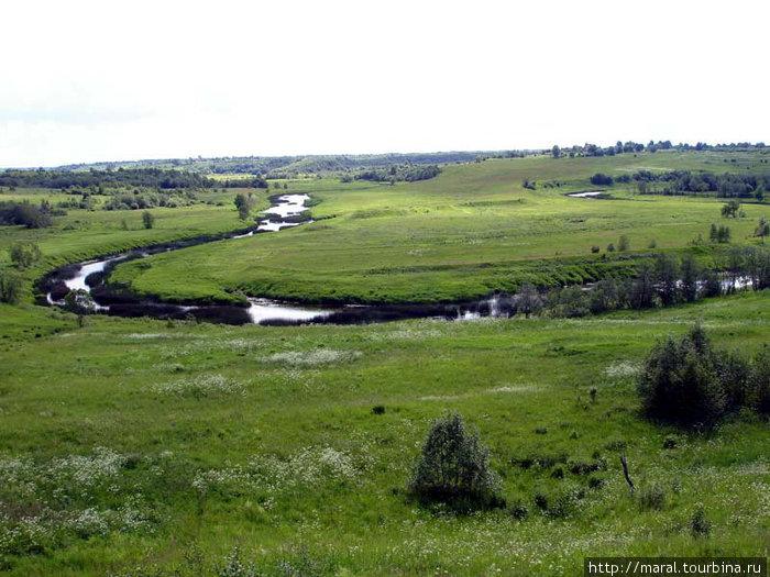 Возле нынешнего села Семёновское, где Сить-река изгибается, словно тугой лук, произошло самое кровопролитное сражение русичей с татарами