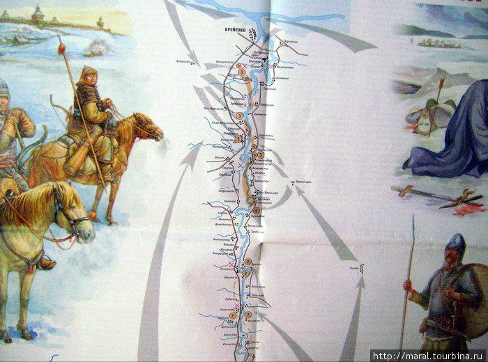 Примерная схема Сицкой битвы, опубликованная в краеведческой газете