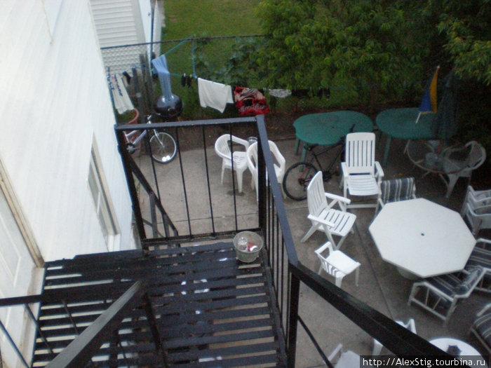 Задний двор нашего дома
