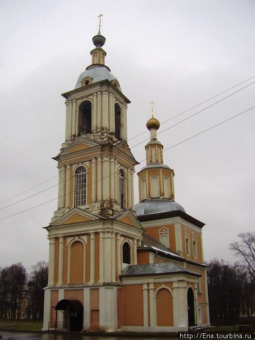 21.11.2009. Углич. Казанская церковь