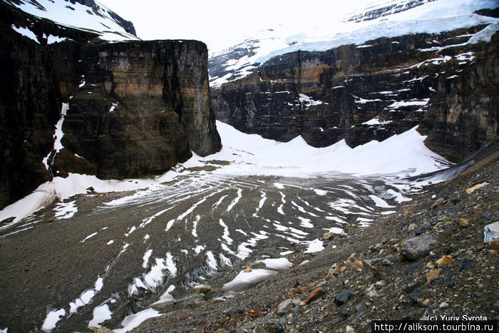 Это и есть The Plain of Six Glaciers.