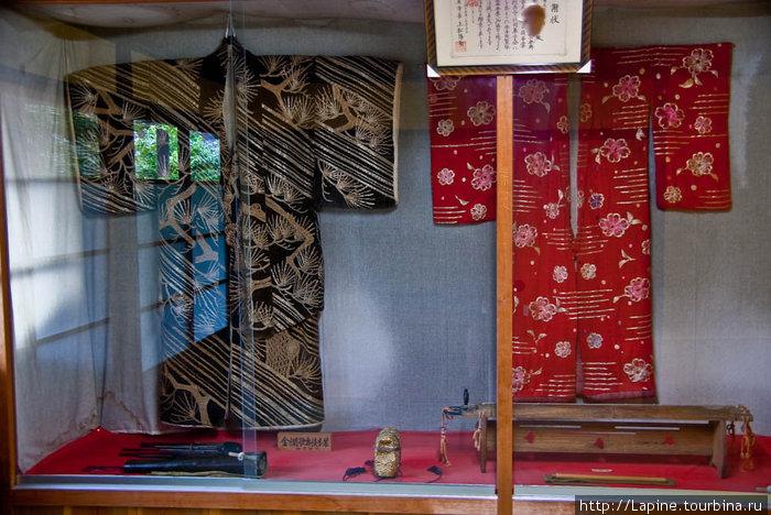 Старинные кимоно в музее