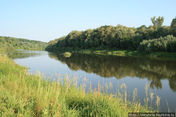 Река Мокша.
