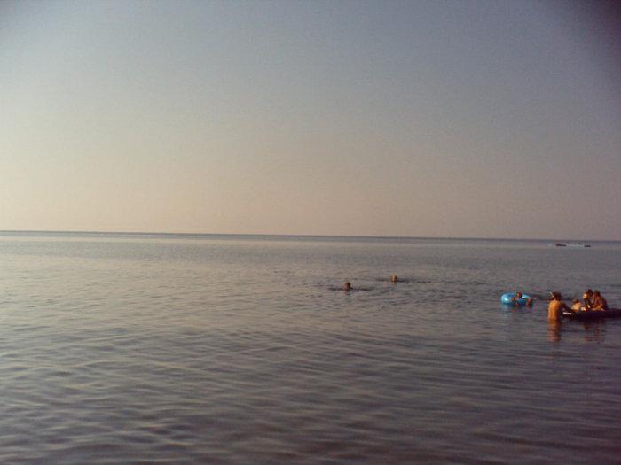 Море с пляжа