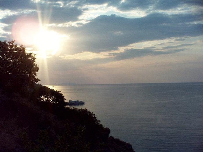 Море и небо с утеса