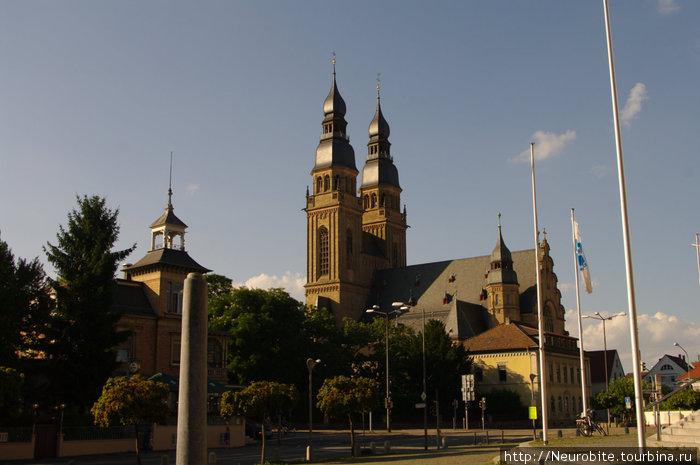Шпайер - старый кельтский город на Рейне - II Шпайер, Германия