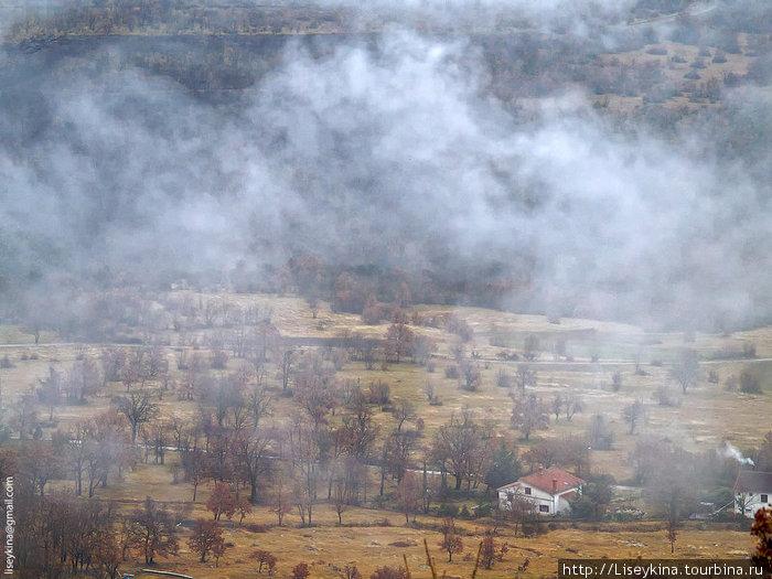 Городок под облаками