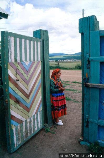 Уставщица Анна Зайцева. Редкое явление — женщина заправляет духовными делами староверов.