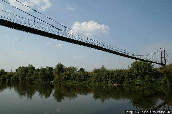 Река Алатырь.