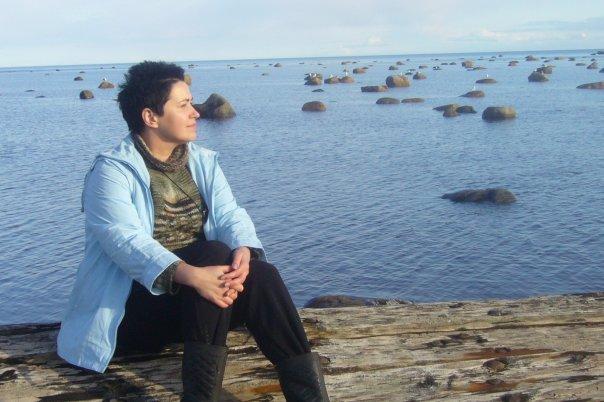 Я на море