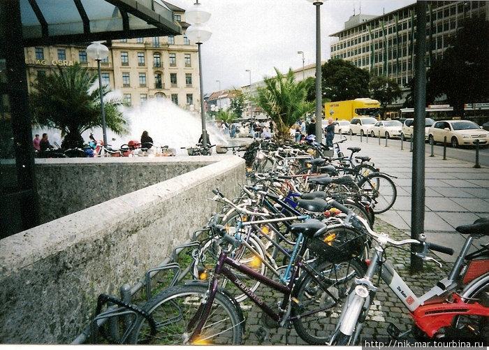 Мюнхен — город велосипедов.