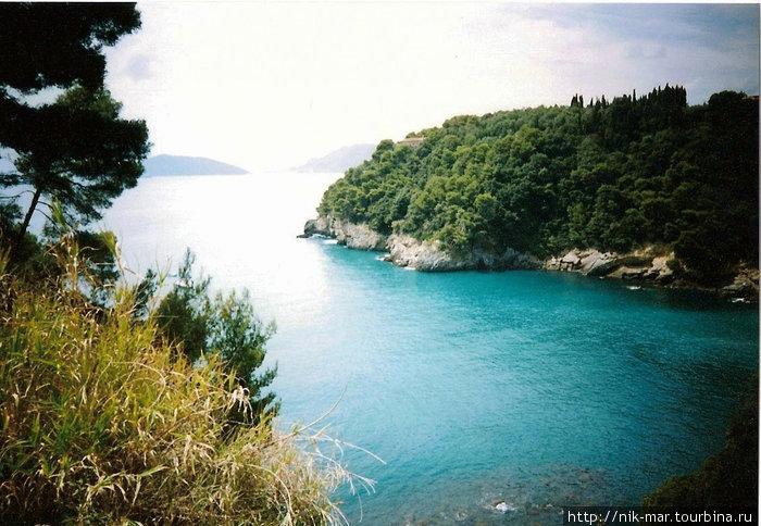 Синева залива Фиаскерино (Италия).