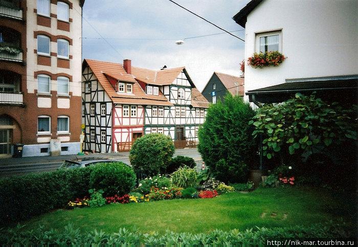 Кассель (Германия). Пряничный домик из сказки.