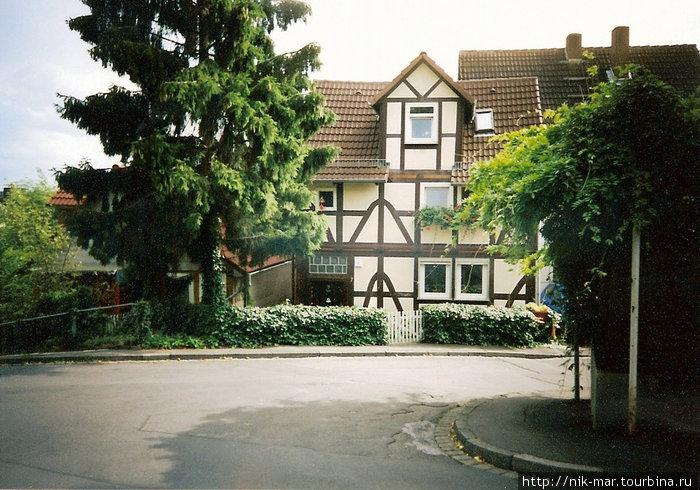 Ещё один образец типичной немецкой архитектуры.