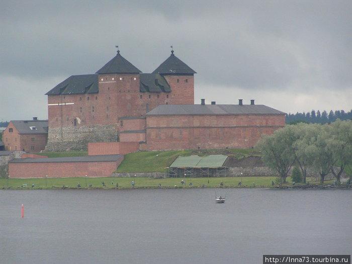 Замок по дороге в г. Тампере