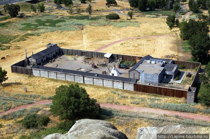 Fort Whoop-Up Interpretive Centre – современная версия форта Вуп-Ап