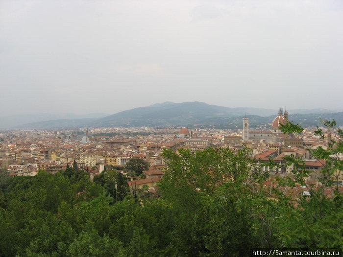 Флоренция — вид из Форта Бельведер