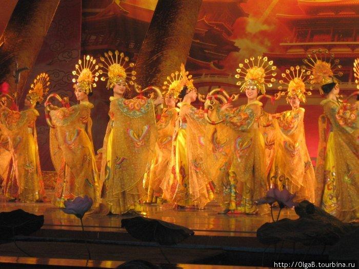 Представление в театре, г. Сиань