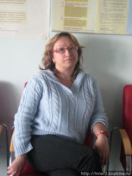 Автор путевой заметки.