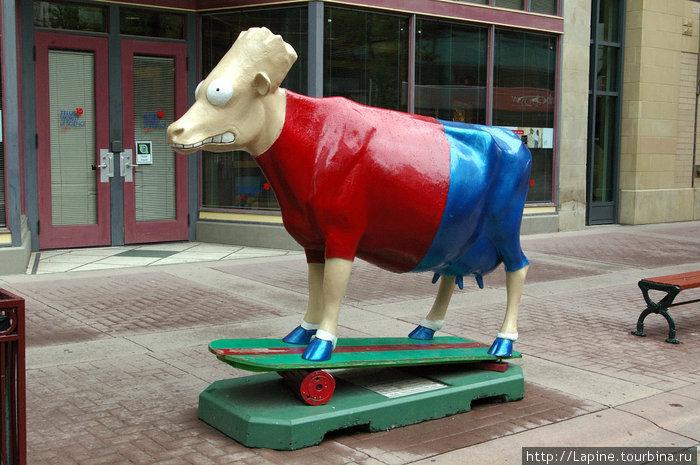 ... и корово-бивис. Или это Батхед? :-)