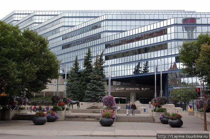 Новое здание муниципалитета