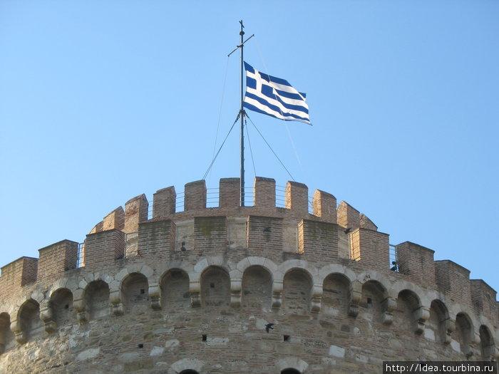 Сине-белая греческая Элевтерия