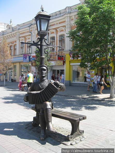 «Саратовская гармошка», скульптор Владимир Пальмин