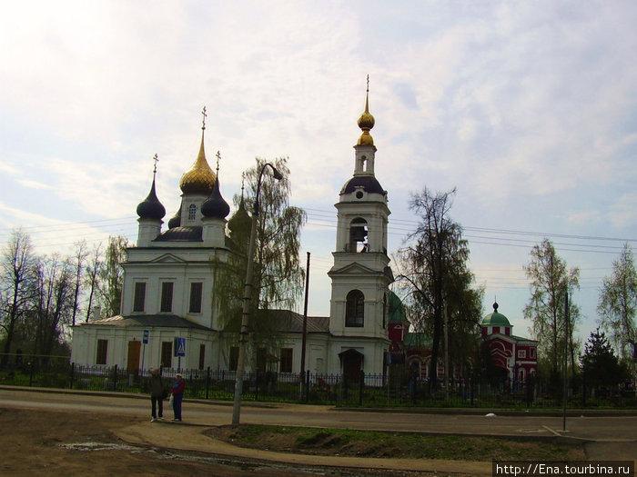 08.05.2010. Рыбинск. Вознесенско-Геогиевский приход
