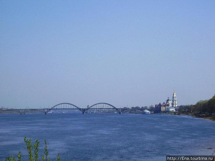 Рыбинск.  Панорама