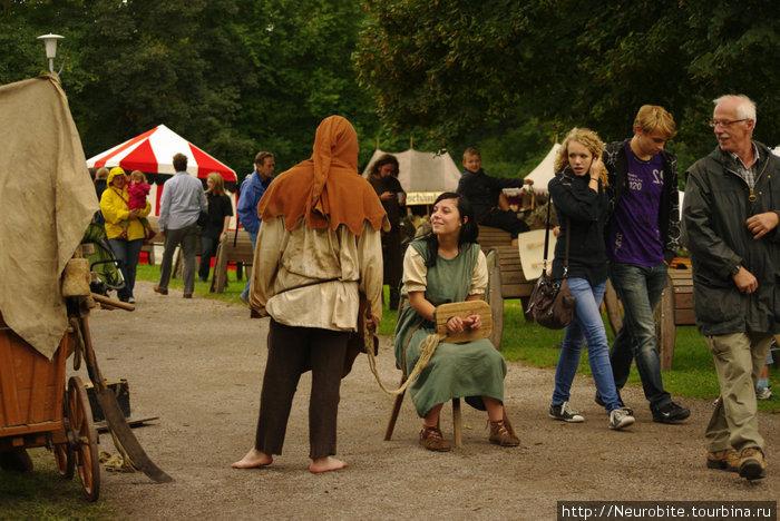 Средневековый атракцион-фантазия