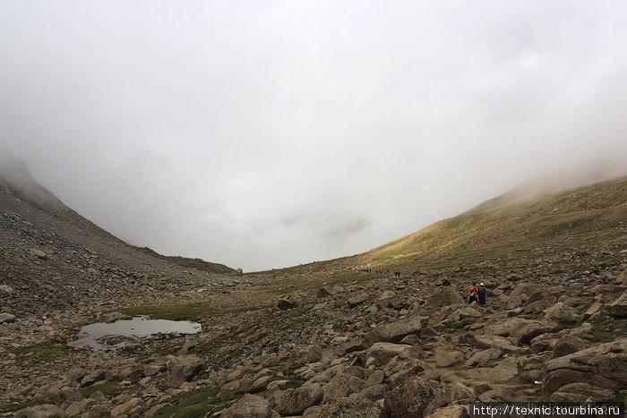 Начало пути на перевал Dolma La