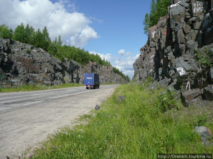 дорога на Медвежьегорск