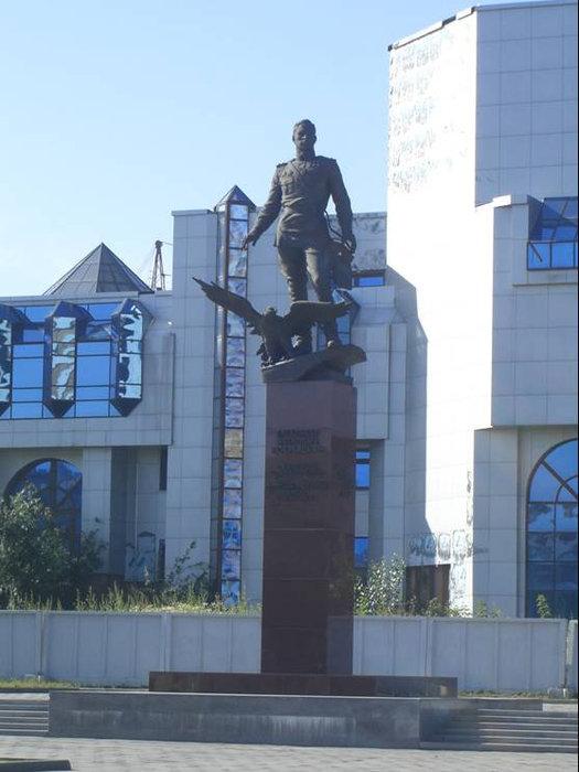 Памятник А.И. Покрышкину