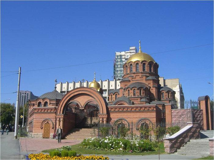 Собор в византийском стиле