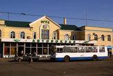 Троллейбус у автовокзала