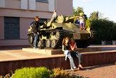 Танк у Военно-исторического музея в Орле