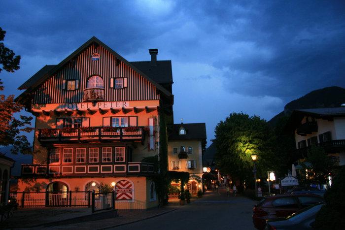 ночной Санкт-Вольфганг