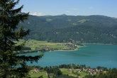вид на озера с высоты