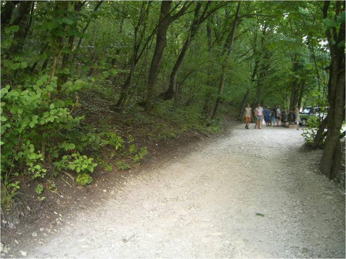 По дороге к Часовенке и источнику