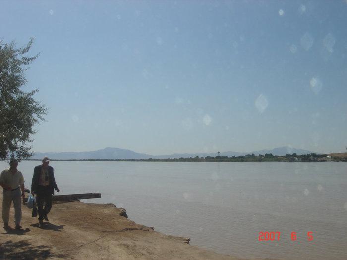 Афганистан, река Пяндж, последние минуты на Афганской земле.