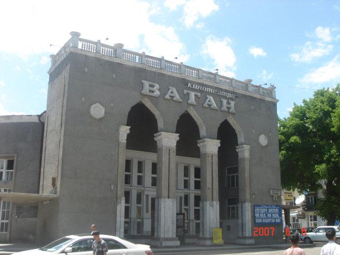 Кинотеатр в Душанбе.
