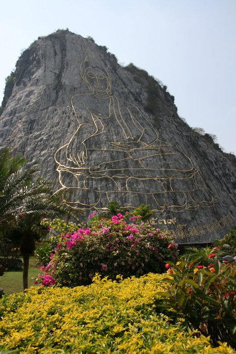 наскальное изображение Будды