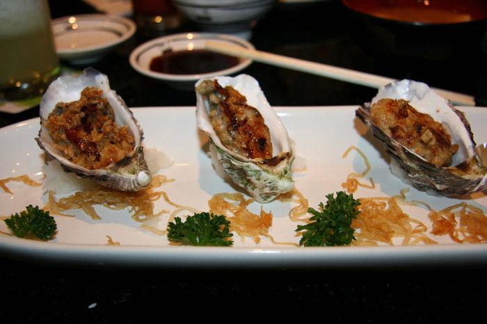 одно из блюд ресторана Fuji