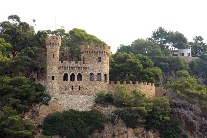 замок в Ллорет-де-Мар