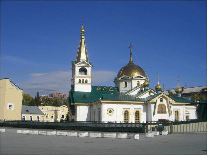 Главный храм города Новосибирска
