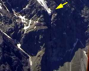 Верхняя точка с которой начинается Большой водопад